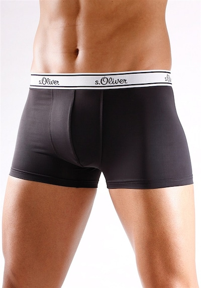Boxer s.Oliver di colore nero, Visualizzazione modelli