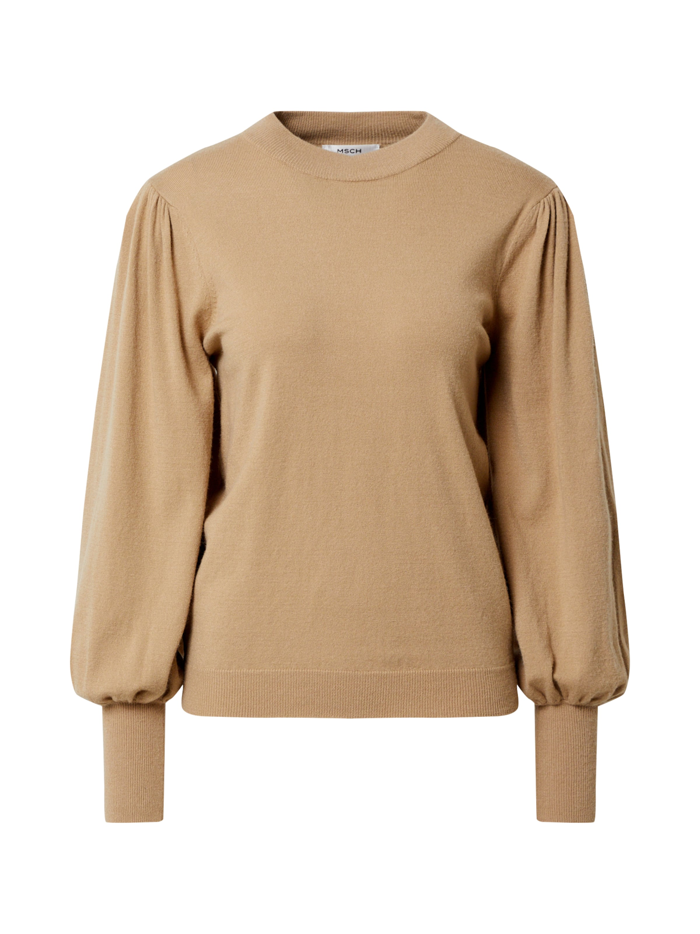 Dione de Graaff draagt deze trui met pofmouwen | Style Like