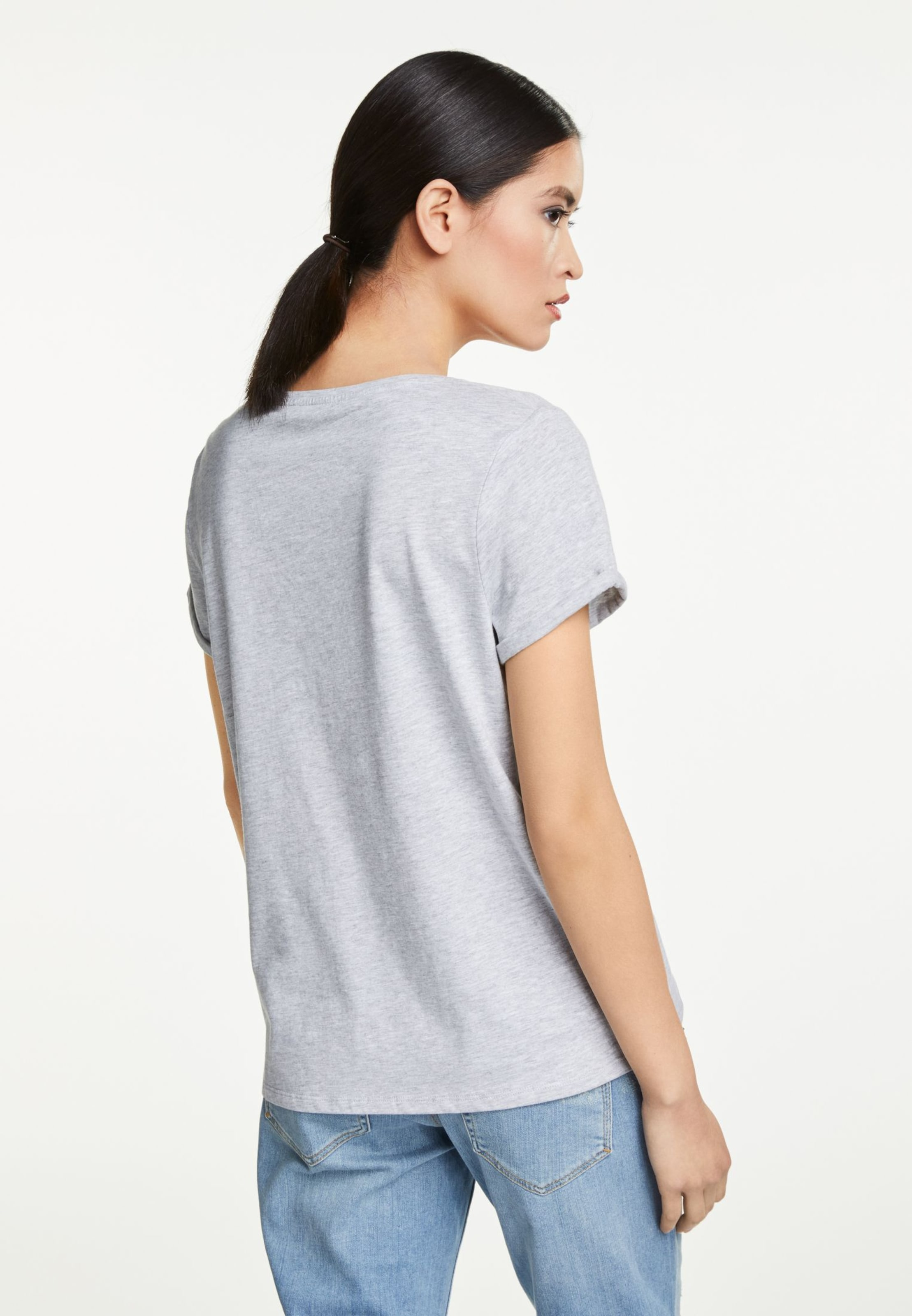 shirt In In Oui shirt T GrauMischfarben Oui T IfYby7g6v