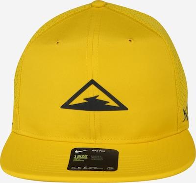 NIKE Sport-Cap in gelb, Produktansicht