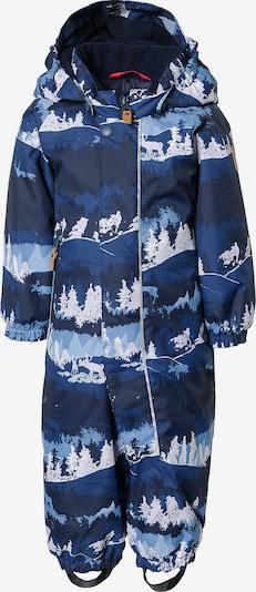 Reima Schneeanzug 'Puhuri' in blau / kobaltblau / opal, Produktansicht