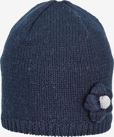 STERNTALER Mütze in blau / wollweiß, Produktansicht