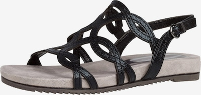 TAMARIS Strap sandal in black, Item view