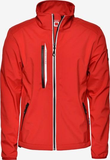 CODE-ZERO Softshell-Jacke 'HALYARD' in rot, Produktansicht