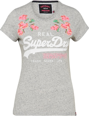 Superdry T-Shirt 'VINTGE LOGO PUFF EMB ENTRY'