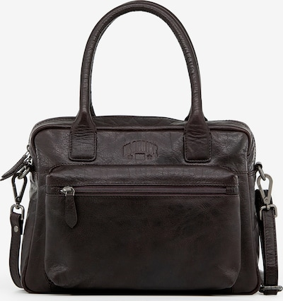 KLONDIKE 1896 Handtasche 'Helena' in dunkelbraun, Produktansicht