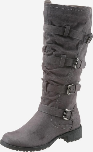 CITY WALK Stiefel in grau / anthrazit, Produktansicht