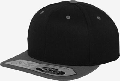 Flexfit Cap '110 Fitted' in grau / schwarz, Produktansicht