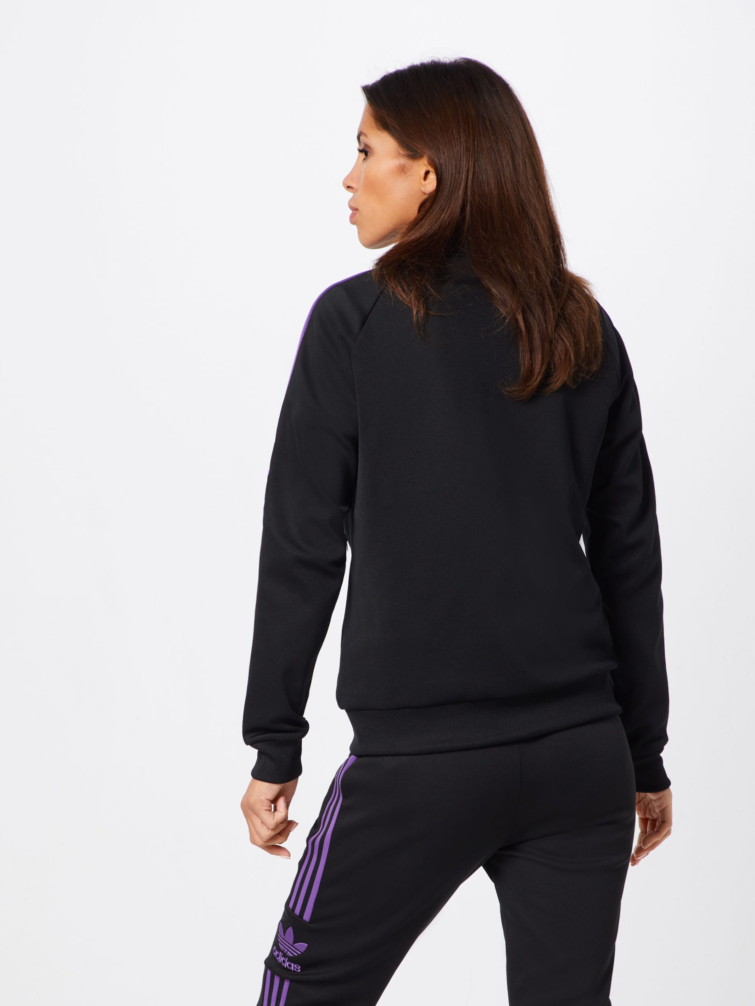 'sst Survêtement En Track Adidas De Veste VioletNoir Originals Top' 5q34ARjL