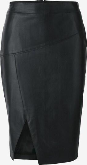 heine LederrockFu in schwarz, Produktansicht