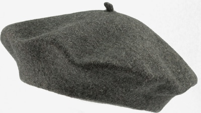 LOEVENICH Baskenmütze in dunkelgrau, Produktansicht