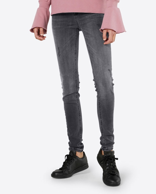 PIECES 'PCFIVE DELLY JEANS GREY/NOOS' Skinny Jeans