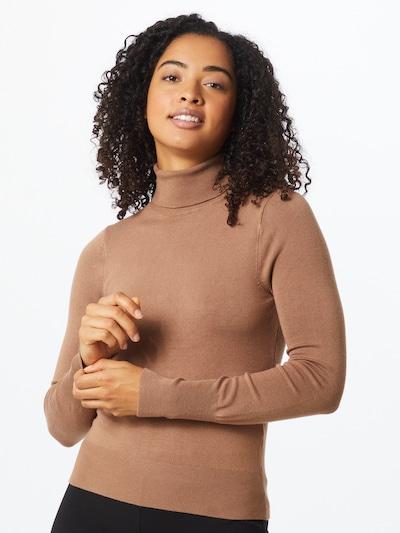 ONLY Sweter 'Venice' w kolorze jasnobrązowym, Podgląd na modelu(-ce)