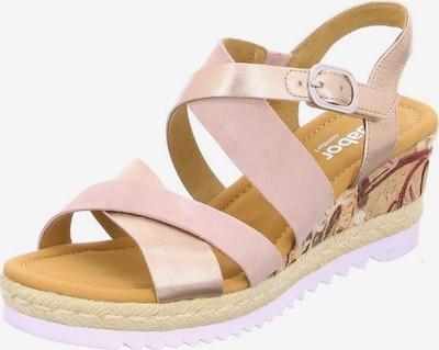 GABOR Sandalen in rosé, Produktansicht