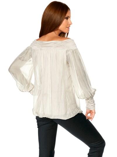 Camicia da donna heine di colore offwhite: Vista da dietro