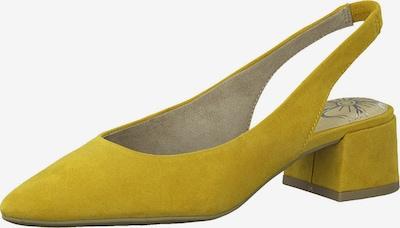 MARCO TOZZI Čevlji s peto in s paščki | rumena barva, Prikaz izdelka