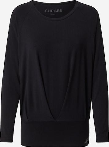 Maglia funzionale di CURARE Yogawear in nero