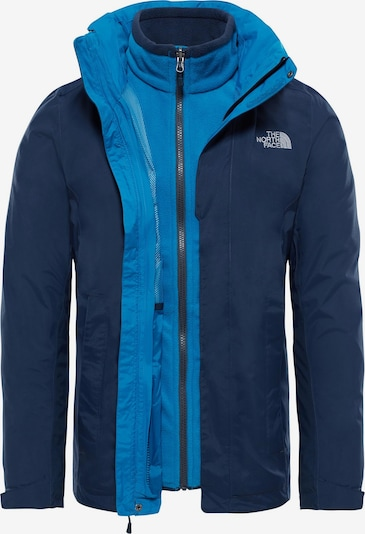 THE NORTH FACE Veste outdoor 'Evolution II' en bleu marine / aqua / blanc, Vue avec produit