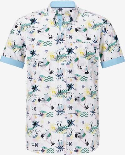 Shirtmaster Kurzarmhemd 'Summer in Florida' in mischfarben, Produktansicht