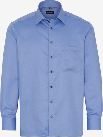 ETERNA Zakelijk overhemd in de kleur Hemelsblauw / Wit: Vooraanzicht