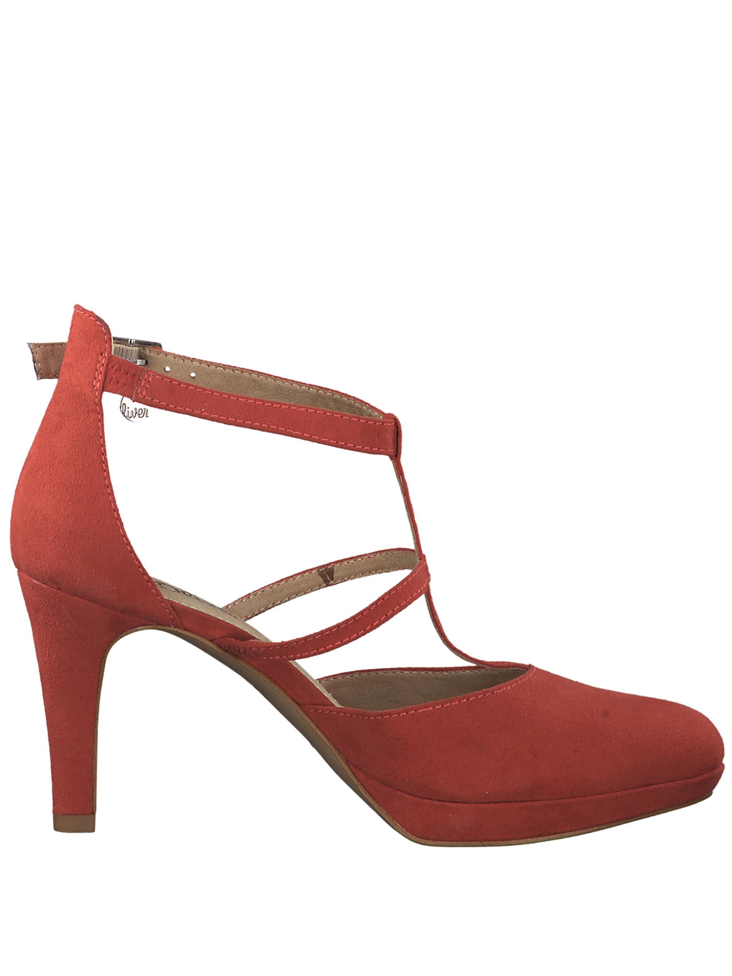 Red Rouge oliver S En Escarpins Bride Label À Arrière c5AjqR43LS