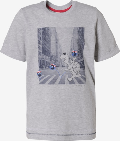 ESPRIT T-Shirt in graumeliert, Produktansicht