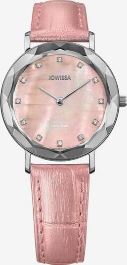 JOWISSA Quarzuhr 'Aura' Swiss Ladies Watch in rosa / silber, Produktansicht