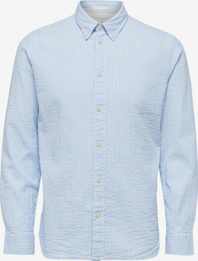 SELECTED HOMME Hemd in hellblau / weiß, Produktansicht