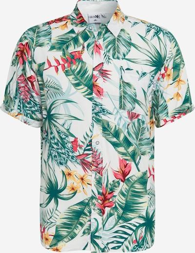 Hailys Men Srajca 'Hawaii' | mešane barve / bela barva, Prikaz izdelka