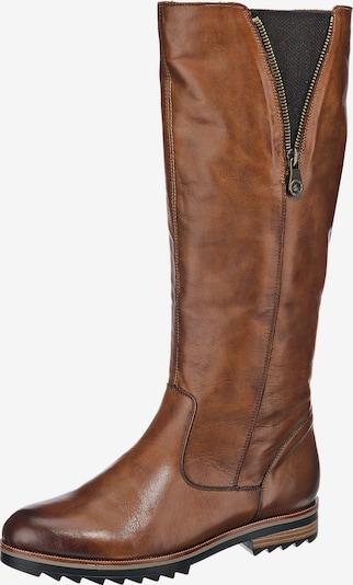 REMONTE Stiefel in karamell / schwarzmeliert, Produktansicht