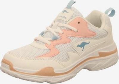 KangaROOS Sneakers laag in de kleur Crème, Productweergave