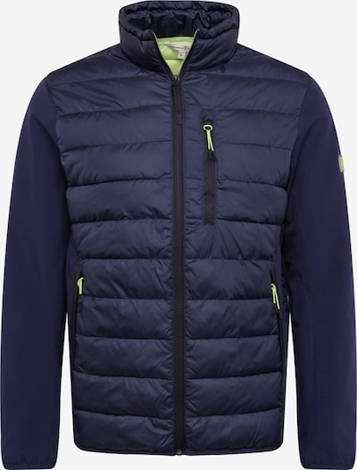 TOM TAILOR DENIM Jacke  'hybrid jacket' in dunkelblau, Produktansicht