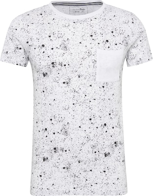 TOM TAILOR DENIM Shirt 'crewneck galaxy print'