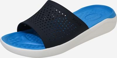 Crocs Pantolette 'Lite Ride' in nachtblau / hellblau, Produktansicht