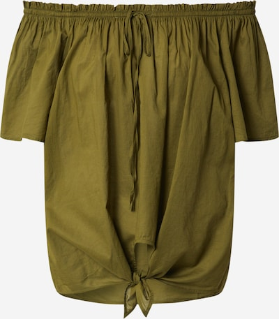 UNITED COLORS OF BENETTON Bluse in khaki, Produktansicht