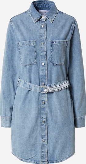 Calvin Klein Jeans Sukienka koszulowa w kolorze niebieski denimm, Podgląd produktu