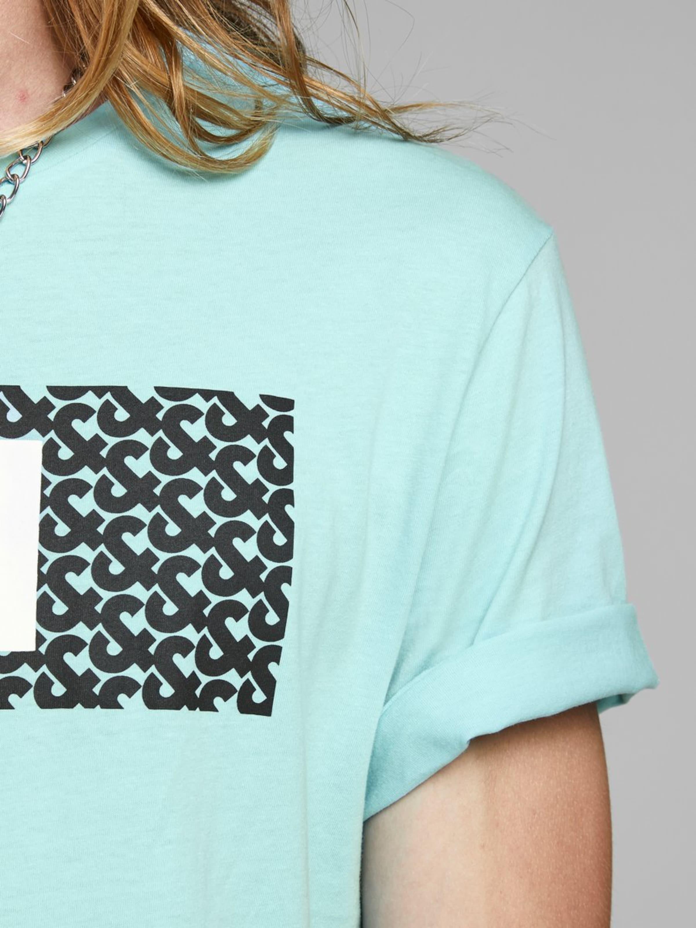 Jackamp; Jones shirt En T Turquoise sdxtQrhCB