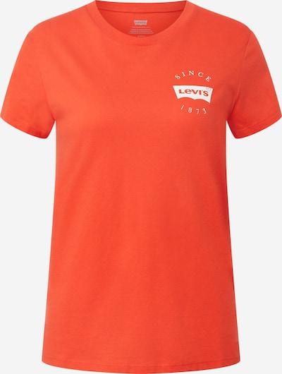 LEVI'S T-Shirt in orangerot / weiß, Produktansicht
