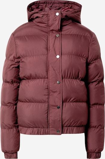 Urban Classics Winterjas in de kleur Donkerrood, Productweergave