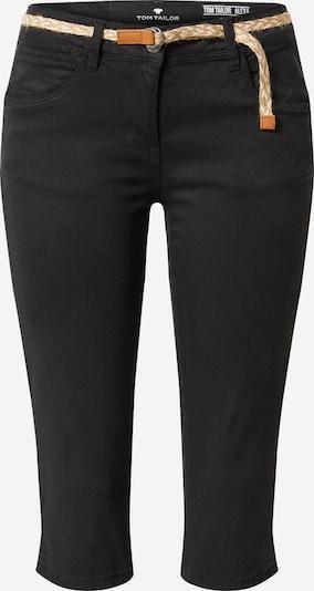 TOM TAILOR Pantalon en noir, Vue avec produit