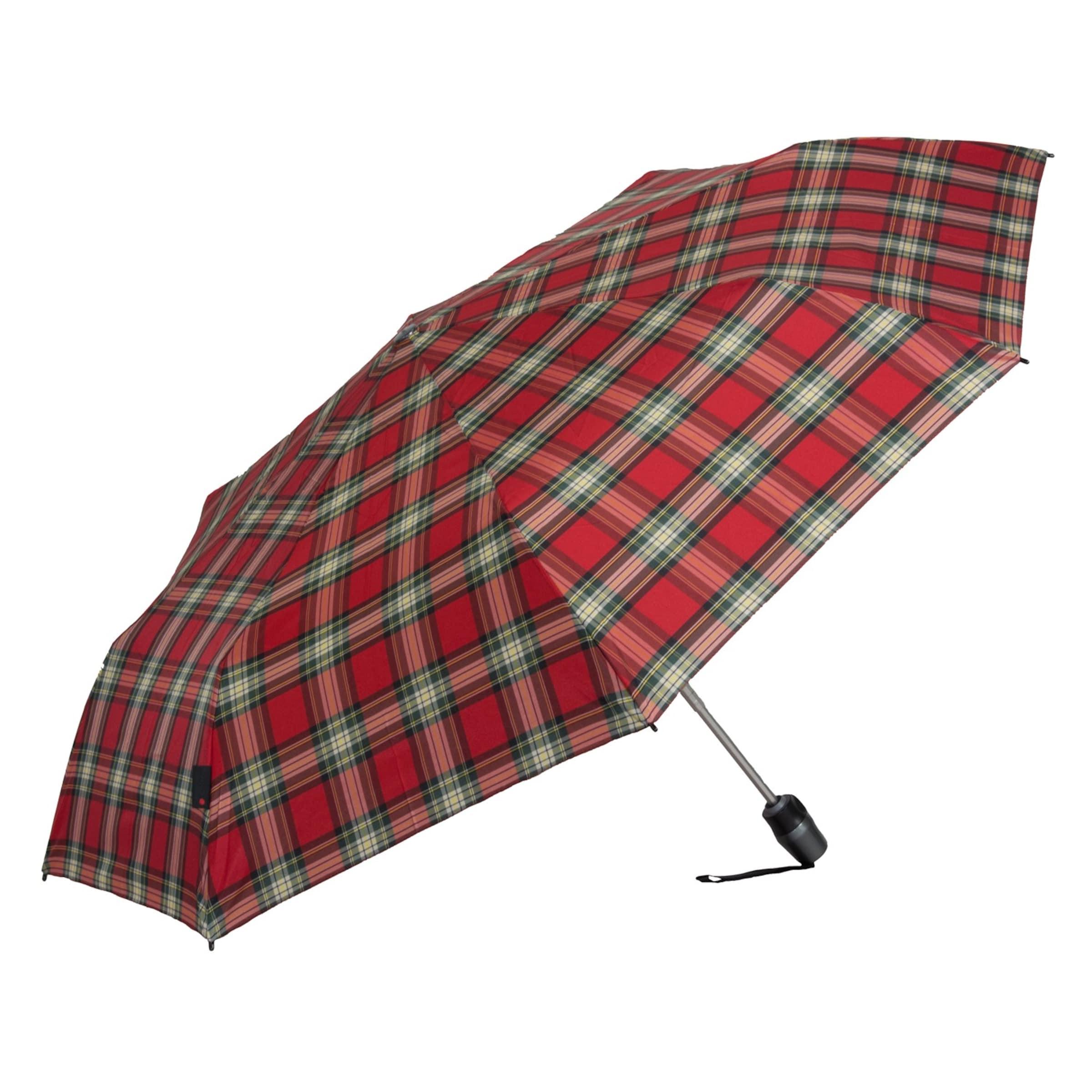 Parapluie Foncé Rouge JauneVert Noir Knirps 't200' En fyb76g