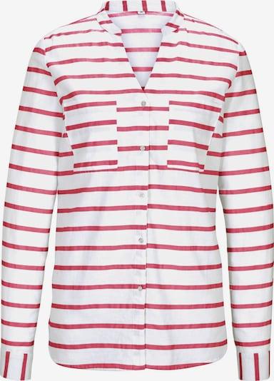 heine Bluse in rot / weiß, Produktansicht