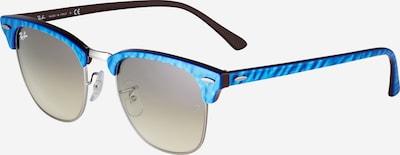 Ray-Ban Sonnenbrille 'Clubmaster' in himmelblau / dunkelgrün, Produktansicht