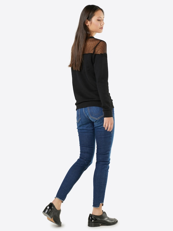 True Religion 'HALLE BROKEN TWILL' Skinny Jeans
