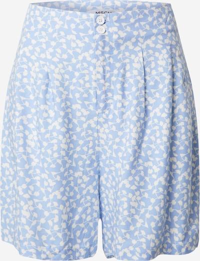 MOSS COPENHAGEN Hose 'Elliane Leia' in hellblau / weiß, Produktansicht
