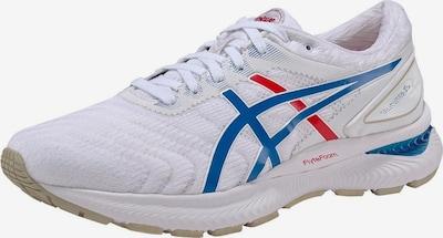 ASICS Laufschuh 'Gel-Nimbus 22' in blau / rot / weiß, Produktansicht