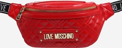 Love Moschino Gürteltasche in rot, Produktansicht