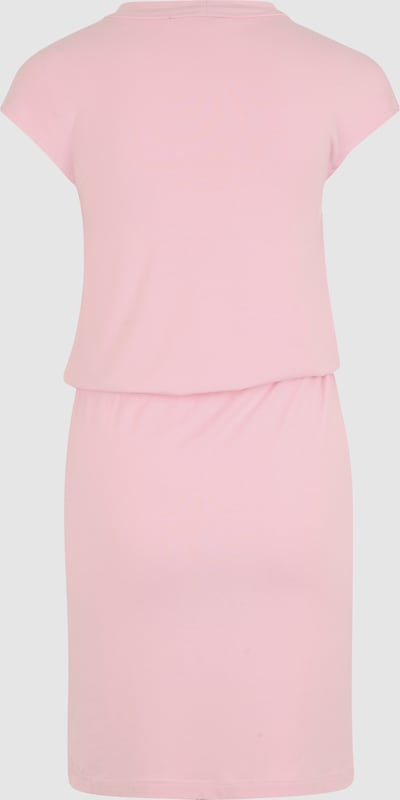 BENCH Kleid mit Wasserfallausschnitt