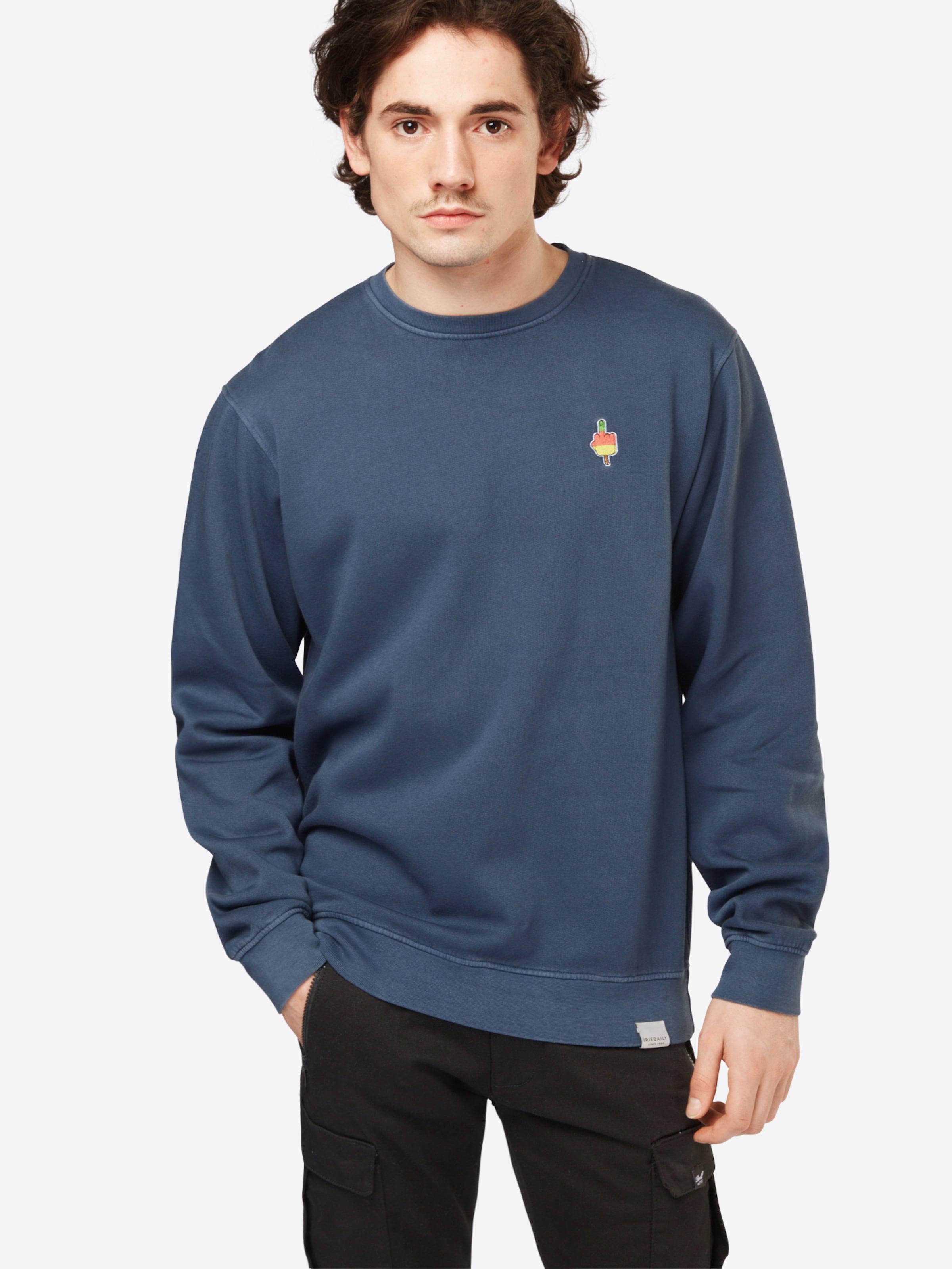Footlocker Günstig Online Iriedaily Sweater 'Flutscher Crew' Rabatt Offiziell Auslass 2018 Neu 9UPUfO6