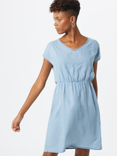 ABOUT YOU Robe 'Frida' en bleu denim, Vue avec modèle